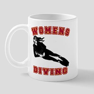 Women's Diving Mug