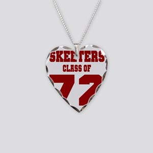 MHS Class Of 1972 Necklace Heart Charm