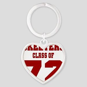 MHS Class Of 1972 Heart Keychain
