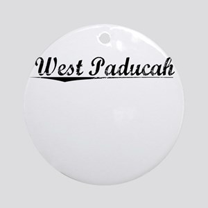 West Paducah, Vintage Round Ornament