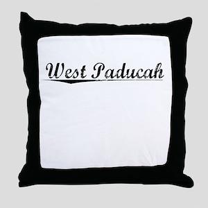 West Paducah, Vintage Throw Pillow
