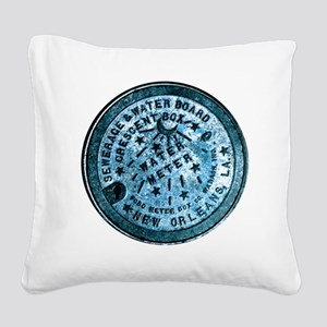 METERCOVER#2 Square Canvas Pillow