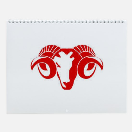 The Ram! Wall Calendar