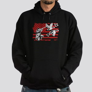 Duck Hunting Flag Sweatshirt