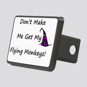 Dont Make Me Get My Flying Rectangular Hitch Cover