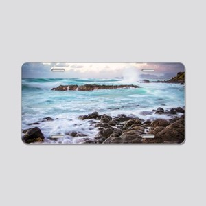 Kauai Sunrise Aluminum License Plate