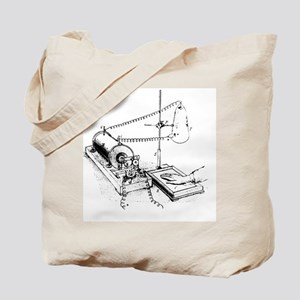 Art of Roentgen's X-ray apparatus for ima Tote Bag