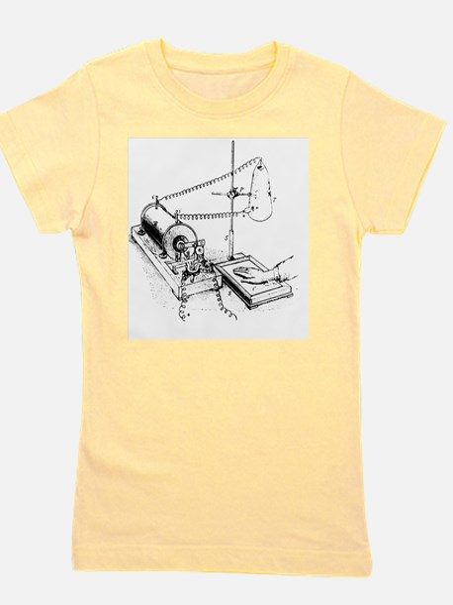 Art of Roentgen's X-ray apparatus for i Girl's Tee