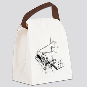 Art of Roentgen's X-ray apparatus Canvas Lunch Bag