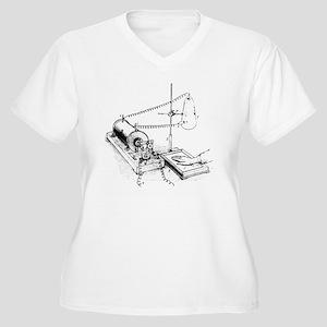 Art of Roentgen's Women's Plus Size V-Neck T-Shirt