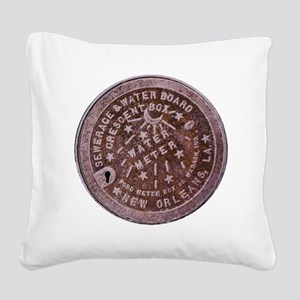 METERCOVER#4 Square Canvas Pillow