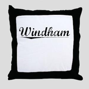 Windham, Vintage Throw Pillow