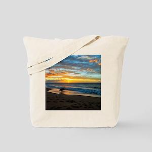 Polihale Sunset Tote Bag