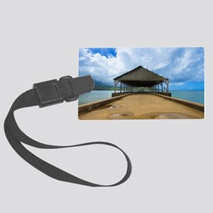 Hanalei Pier Large Luggage Tag