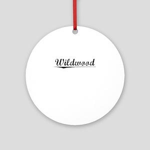 Wildwood, Vintage Round Ornament