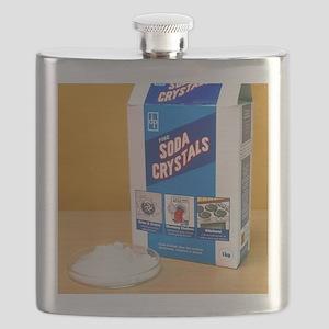 Soda crystals Flask