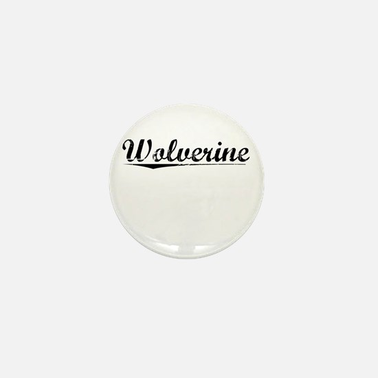 Wolverine, Vintage Mini Button