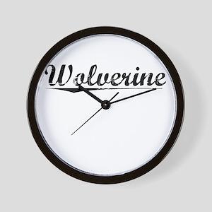 Wolverine, Vintage Wall Clock
