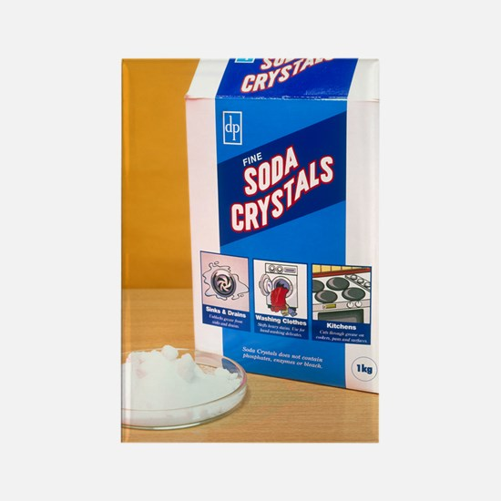 Soda crystals Rectangle Magnet