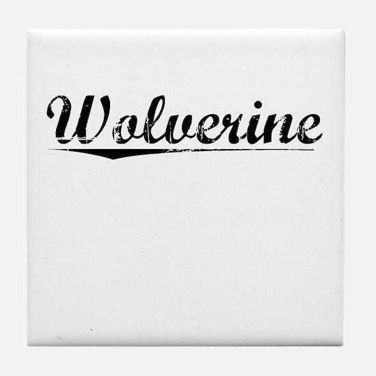 Wolverine, Vintage Tile Coaster