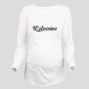 Wolverine, Vintage Long Sleeve Maternity T-Shirt