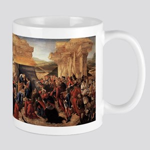 Adoration of the Magi 2 - Botticelli 11 oz Ceramic
