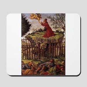 Agony in the Garden - Botticelli Mousepad