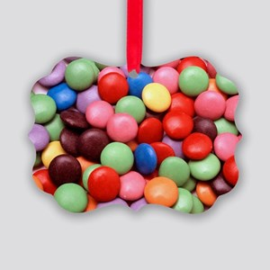 Smarties Picture Ornament