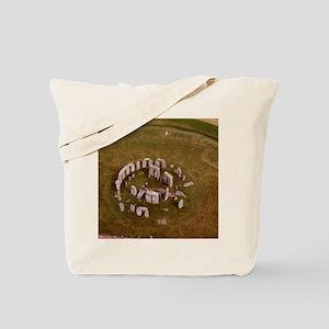 Aerial view of Stonehenge Tote Bag