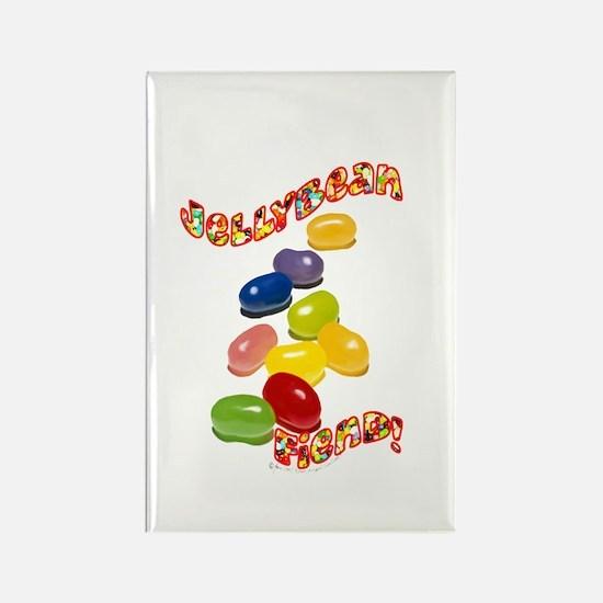 Jellybean Fiend Rectangle Magnet