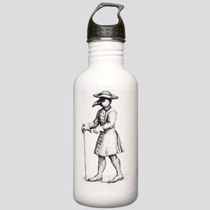 Bird-like mask on phys Stainless Water Bottle 1.0L
