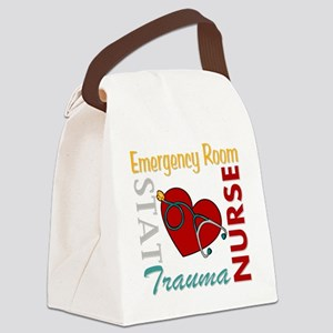 ER Nurse Canvas Lunch Bag