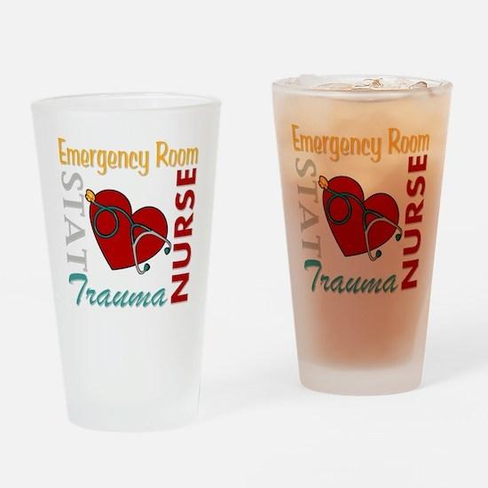 ER Nurse Drinking Glass
