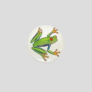 Green Frog Mini Button