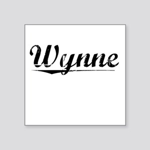 "Wynne, Vintage Square Sticker 3"" x 3"""