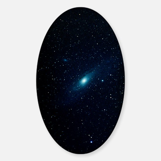 Andromeda Galaxy (M31, NGC 224) Sticker (Oval)