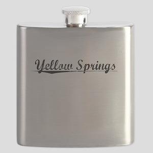 Yellow Springs, Vintage Flask