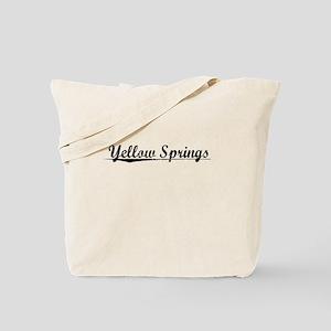 Yellow Springs, Vintage Tote Bag