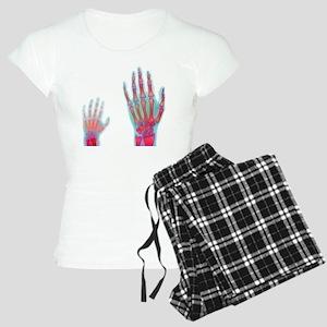 Adult and child hand X-rays Women's Light Pajamas