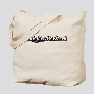 Wrightsville Beach, Vintage Tote Bag