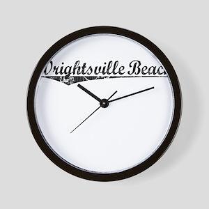 Wrightsville Beach, Vintage Wall Clock