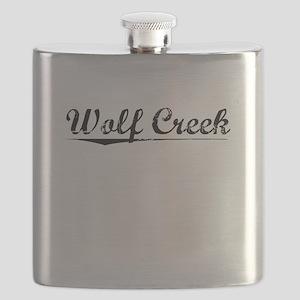 Wolf Creek, Vintage Flask