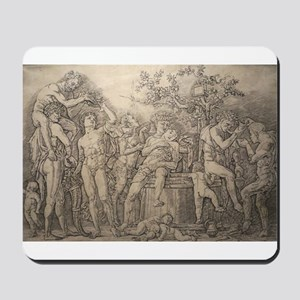 Bacchanal with Wine Press - Andrea Mantegna Mousep