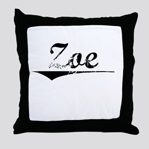 Zoe, Vintage Throw Pillow
