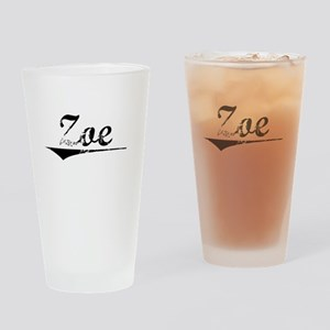 Zoe, Vintage Drinking Glass