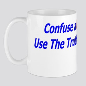 Confuse a conservative with logic Mug