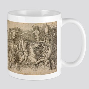 Battle of Two Sea Monsters - Andrea Mantegna 11 oz