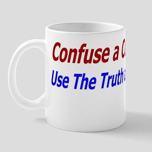 confuse a consevative Mug