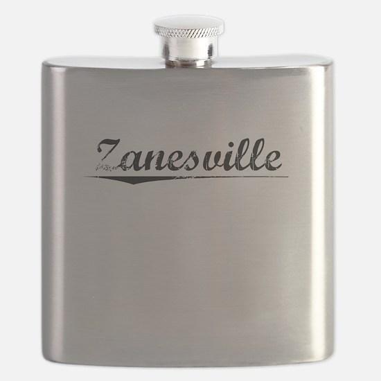 Zanesville, Vintage Flask