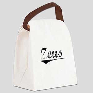 Zeus, Vintage Canvas Lunch Bag